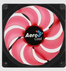 Case Fan AEROCOOL Motion 12 plus Red