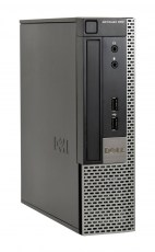 DELL SQR PC Optiplex 990 USFF, i5-2400S, 4GB, 320GB HDD, DVD-RW, Βαμμένο