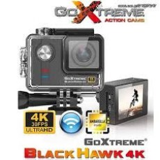 GOXTREME ACTION CAMERA ULTRA HD WITH WIFI BLACK HAWK 4K