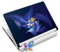 LAMTECH 9.2-12.4 LAPTOP SKIN BLUE FLOWER