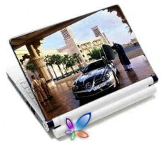 LAMTECH 9.2-12.4 LAPTOP SKIN MERC BENZ CAR