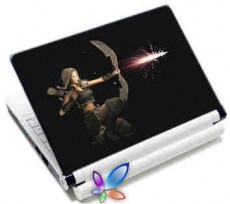 LAMTECH 9.2-12.4 LAPTOP SKIN WARRIOR PRINCESS