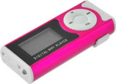 LAMTECH DIGITAL MP3 PLAYER 16GB WITH FM RADIO FUCHSIA