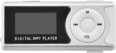 LAMTECH DIGITAL MP3 PLAYER 16GB WITH FM RADIO SILVER