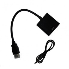 NG ΜΕΤΑΤΡΟΠΕΑΣ HDMI MALE ΣΕ VGA FEMALE ΜΕ AUDIO ADAPTER