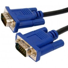 Powertech Cable VGA male - VGA male 1.5m