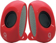 Q-TECH SPQ-805 SPEAKERS RED