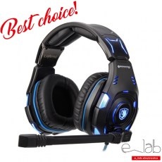 SADES Gaming Headset Knight Pro, USB, Bongiovi Acoustics DPS