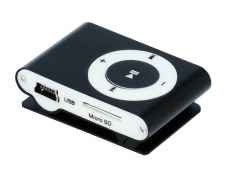 SETTY MP3 Player, Earphones, Black