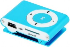 SETTY MP3 Player, Earphones, Blue