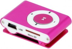 SETTY MP3 Player, Earphones, Pink