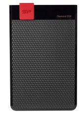 SILICON POWER Εξωτερικός HDD 2TB Diamond D30 D3L, USB 3.1, Black