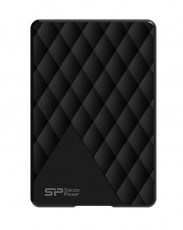SILICON POWER Εξωτερικός HDD Diamond D06, 1TB, USB 3.1, μαύρο