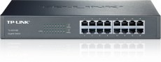 TP-LINK Switch TL-SG1016D, 16 port, 10-100-1000 Mbps