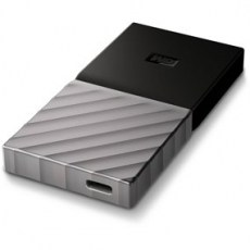 Western Digityal SSD My Passport 256GB Silver Portable